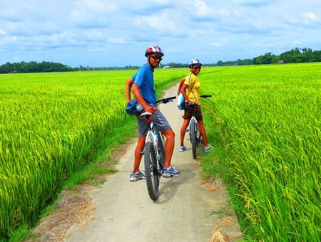 Cycling Mekong Delta